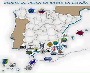 club pesca en kayak España