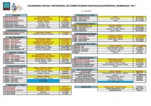 calendario-pesca-en-kayak-2017 Campeonato de España